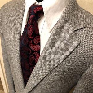 CANALI 40R recent blazer sport coat wool cashmere